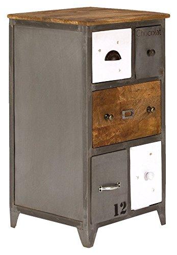 Cassettiera con cinque cassetti jayedgar