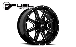 Fuel Maverick 20 Black Wheel / Rim 5×5.5 & 5×150 with a 1mm Offset and a 110.3 Hub Bore. Partnumber D53820907050