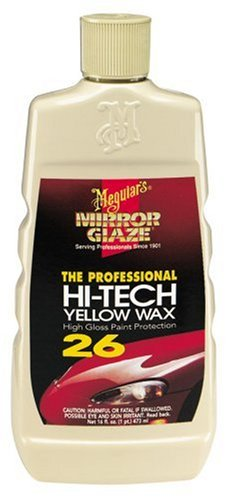 meguiars hi tech yellow wax 16 ounces car polishes waxes. Black Bedroom Furniture Sets. Home Design Ideas