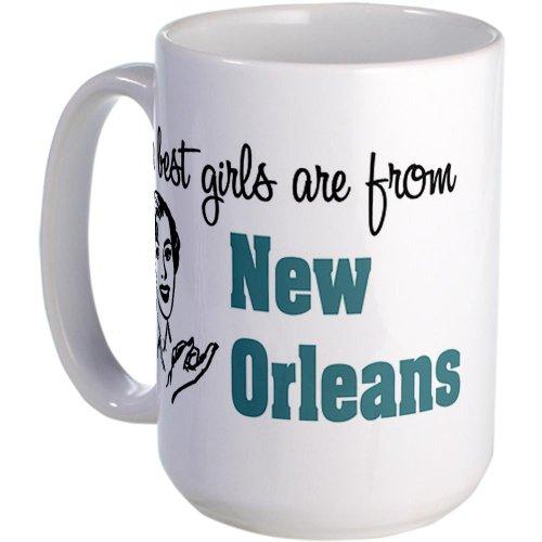 Cafepress Best Girls New Orleans Large Mug Large Mug - Standard