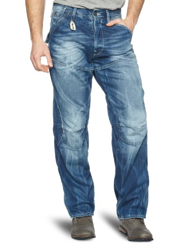 G-Star Motor 5620 3D Embro Loose Men's Jeans Rugby Wash W29 INXL32 IN