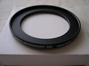 HeavyStar Dedicated Metal Stepup Ring 52mm-67mm