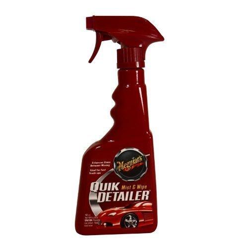 Meguiar's Showroom Wax Buff Spray Show Room Shine Wax Spray Car Wax Truck Wax RV Wax Spray Standard 16oz Size (Vehicle Wax/Buff Quick Spray) (Meguiars Quick Detailer Spray compare prices)