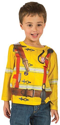 Toddler Fireman Costume Longsleeve T-Shirt