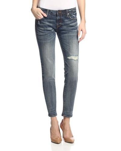 D-ID Women's Florence Ankle Skinny Jean