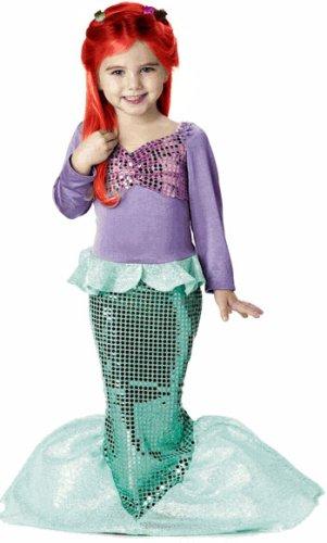 Kid's Little Mermaid Costume (Size:X-Small 4-6)