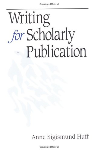 Writing for Scholarly Publication