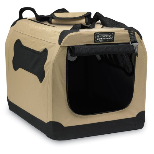 Petnation by Firstrax Port-A-Crate E2 Indoor/Outdoor Pet Home, 20 Inches