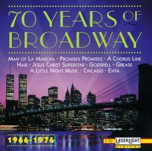 Various Artists 70 Years Of Broadway 1966 1976 Amazon