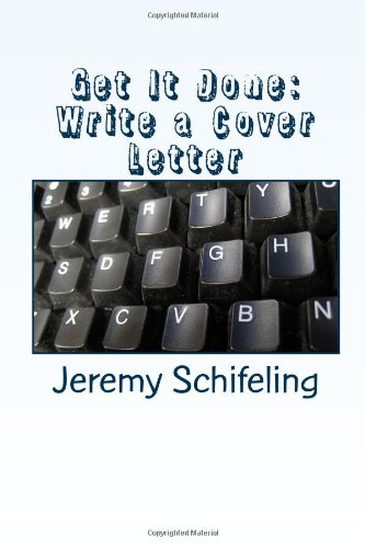 Get It Done: Write A Cover Letter front-150496