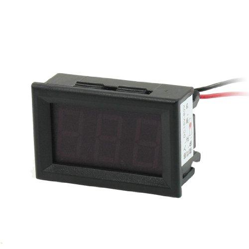 Dc 15-80V 2-Wire Mini Red Led 3-Digit Volt Panel Meter Voltmeter