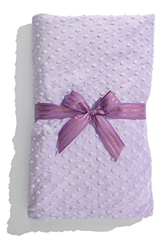 Heated Luxury Spa Blankie – Lavender Dot