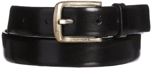 Diesel, BIMITI-70L, Cintura in pelle-Collezione Autunno/Inverno 2013, 90, Nero
