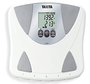 Tanita BF-683W Body Fat/Body Water Feature, White