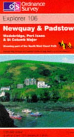 Newquay and Padstow, Wadebridge, Port Isaac and St.Columb Major (Explorer Maps)