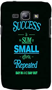 PrintVisa Quotes Success Case Cover for Samsung Galaxy J1