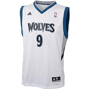 NBA adidas Ricky Rubio Minnesota Timberwolves Youth Revolution 30 Replica Road Jersey... by NBA-adidas