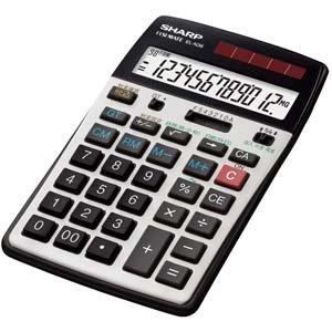 シャープ 経理仕様電卓 12桁 EL-N36-X