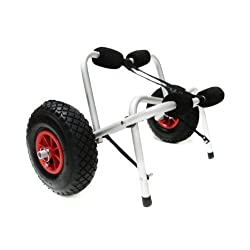 Funny product TMS CART-CANOE/KAYAK-KY001 New Jon Boat Kayak Canoe Carrier Dolly Trailer Tote Trolley Transport Cart Wheel