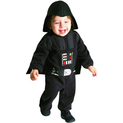 Star Wars Darth Vader Romper Costume, 1 to 2 Years image