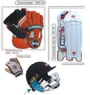 Commander Wicket Keeping Set (Men Size)