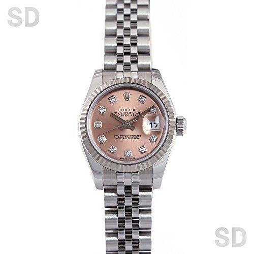 [ロレックス]ROLEX腕時計 デイトジャスト ピンク/ダイヤ Ref:179174G レディース [中古] [並行輸入品]