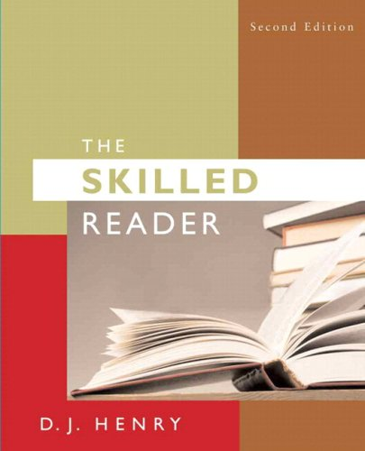 Skilled Reader (with MyReadingLab Access) Value Package (includes Lab Manual (The Skilled Reader,)) (2nd Edition)