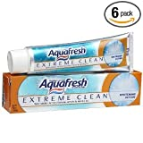 Aquafresh® Extreme Clean Whitening Action Toothpaste, 7 oz (Pack of 6 )