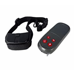 4 in 1 Remote Pet Trainer Dog Electric Shock Vibrate Training Collar Remote Trainer for 1 Medium/large Dogs