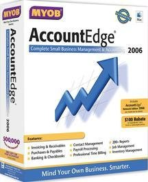 Accountedge and Network Edition 2006 (Mac)