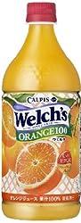 Welch's オレンジ100 800g×8本