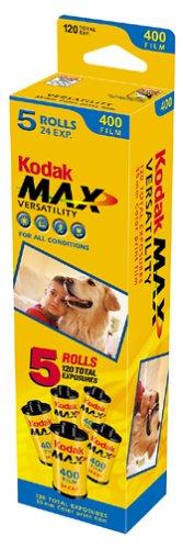 Kodak Gold Ultramax 400 Color Negative Film ISO 400, 35mm, 24 Exposures (5 Roll Pack) 195 4841