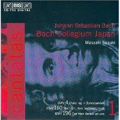 輸入盤CD 鈴木雅明/バッハ・コレギウム・ジャパン J.S.Bach:Cantatas Vol.1のAmazonの商品頁を開く