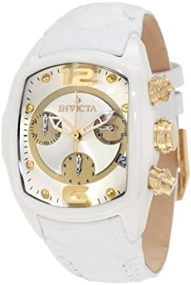 Invicta Women's 0311 Lupah Revolution Chronograph White Watch