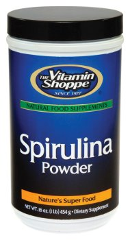 Vitamin Shoppe - Spirulina Powder, 16 oz powder