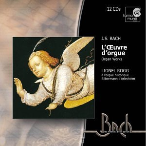 Bach: L'Ouvre d'orgue (The Organ Works) /Rogg