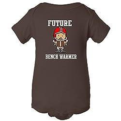 Future Bench Warmer One Piece Romper Baby Bodysuit