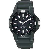 [シチズン キューアンドキュー]CITIZEN Q&Q 腕時計 Falcon (フォルコン) スポーツタイプ アナログ表示 10気圧防水 ブラック Q596-851 メンズ