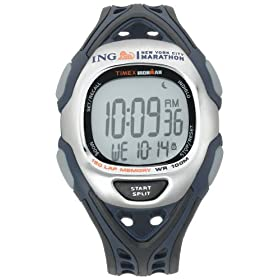Timex Unisex ING NYC Marathon Ironman 150-Lap Sleek Watch #T5K373