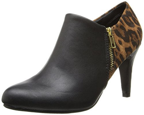 Wild Pair Women'S Leopard Boot,Black,9 M Us