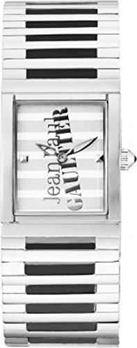 Jean Paul Gaultier-Reloj de pulsera analógico para mujer cuarzo acero inoxidable 8500805