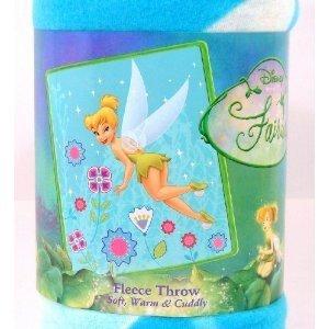 Tinkerbell Fleece Blanket Throw