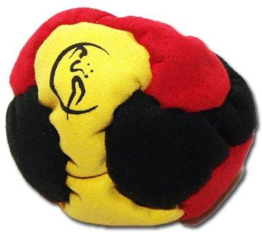 pro-footbag-aka-hacky-sack-freestyle-6-panneaux-noir-jaune-rouge-parfait-pour-les-stands-et-les-reta