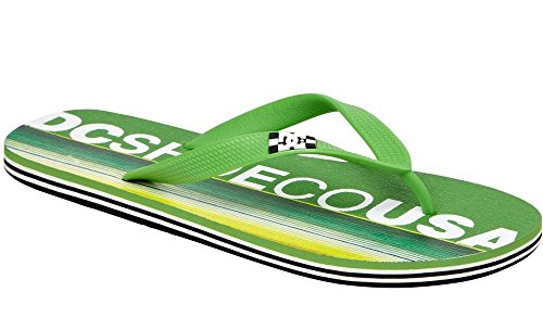 DC SANDALS SPRAY GREEN YELLOW INFRADITO SS 2014-US 13 EUR 47 CM 31