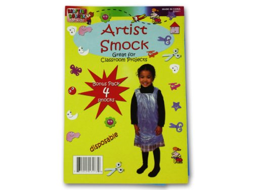 New - Disposable children's artist smock - Case of 96 by krafters korner