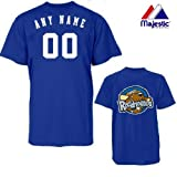 CUSTOM MIDLAND ROCKHOUNDS JERSEY (Add Name & Number) 100% Cotton MiLB Majestic T-Shirt Minor League Baseball Replica Jersey