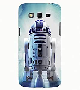 ColourCraft ROBOT Design Back Case Cover for SAMSUNG GALAXY GRAND 2 G7102 / G7106