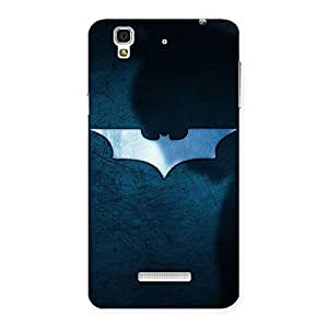 Premier Blue Knight Designer Back Case Cover for YU Yureka Plus
