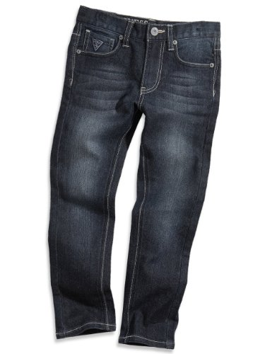 GUESS Kids Little Boy Skinny Fit Jeans (2-7) - Midnight Wash