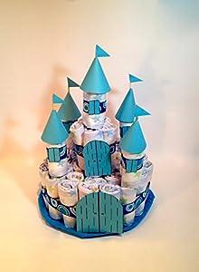 Castillo de pañales DODOT azul